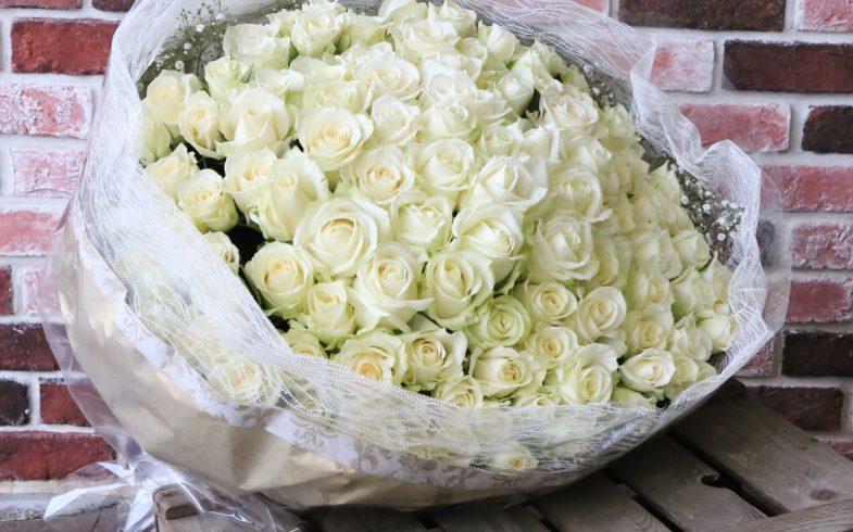 108本の花束