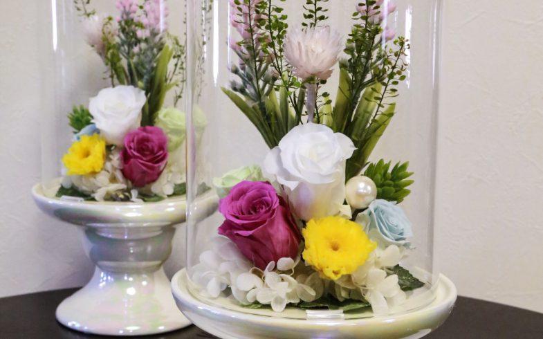 プリザーブドフラワーのお仏壇の花