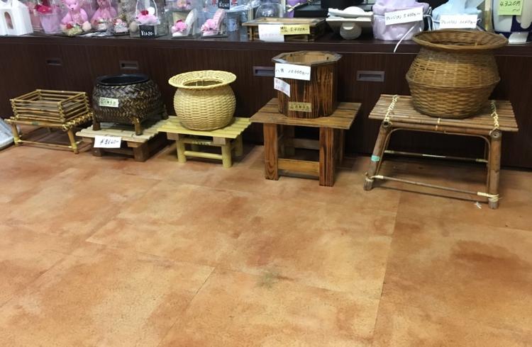 初盆用アレンジ台